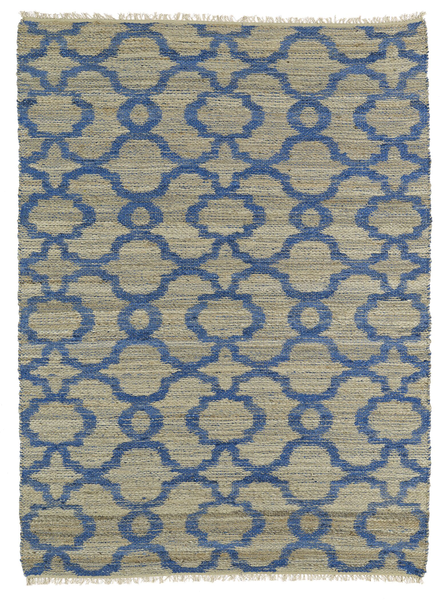 Coatsburg Blue Area Rug Rug Size: Rectangle 5' x 7'9