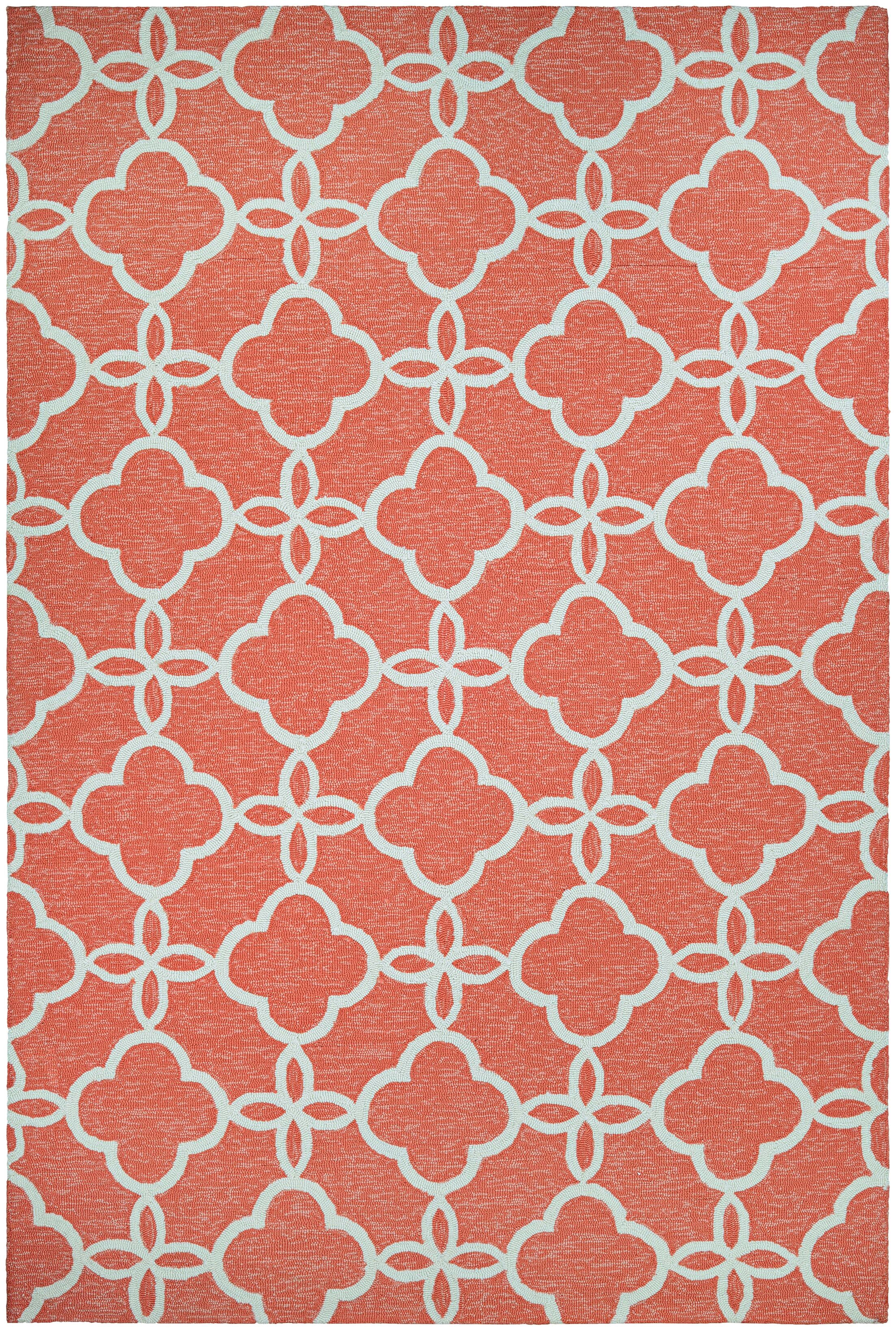 Locklin Hand-Knotted Indoor/Outdoor Area Rug Rug Size: Rectangle 5'6