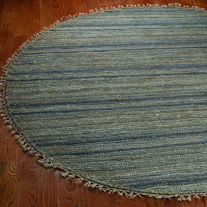 FelicianaBlue Area Rug Rug Size: Rectangle 6' x 9'