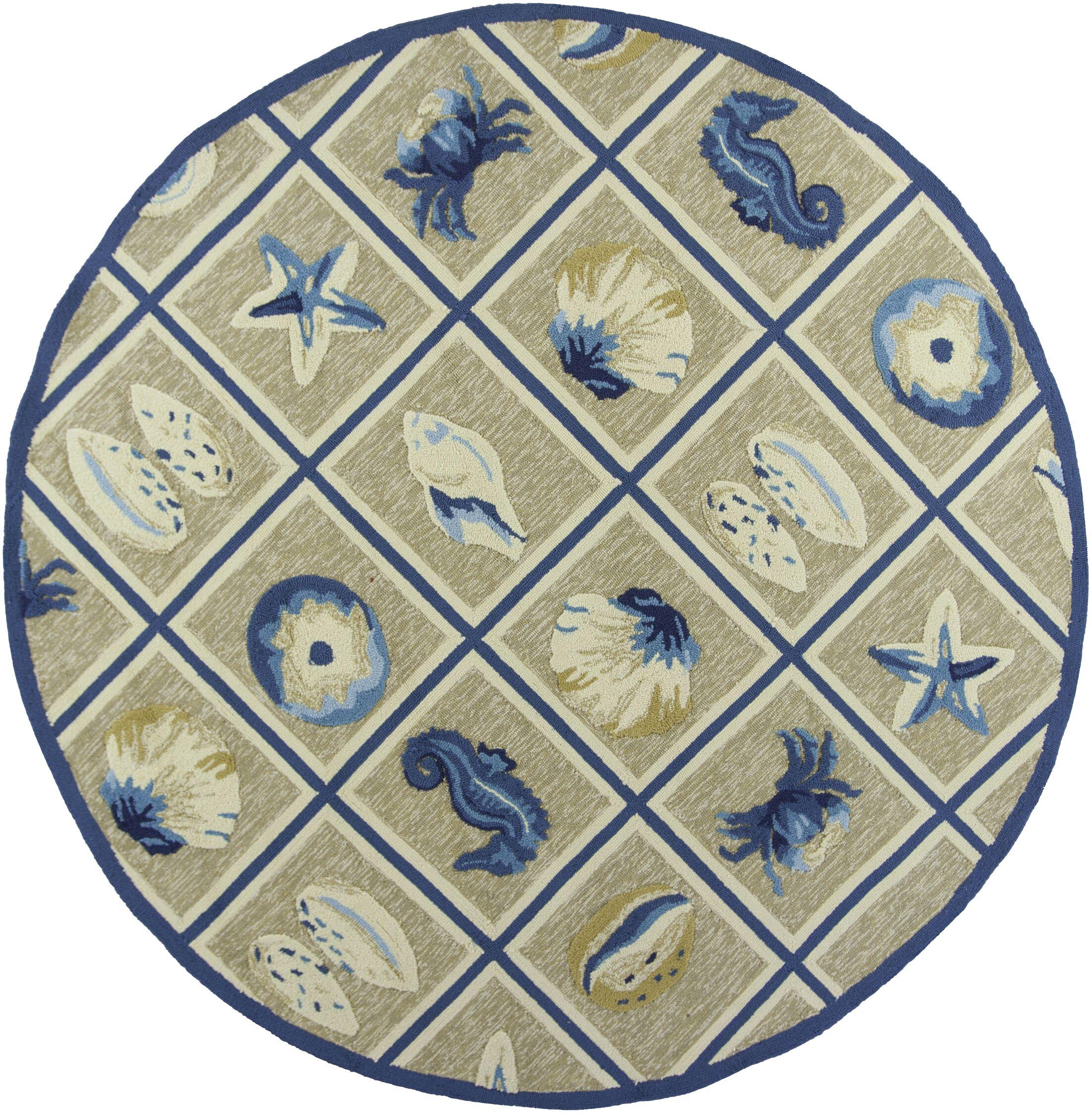 Oceane Oceana Outdoor Rug Rug Size: Rectangle 5' x 7'6