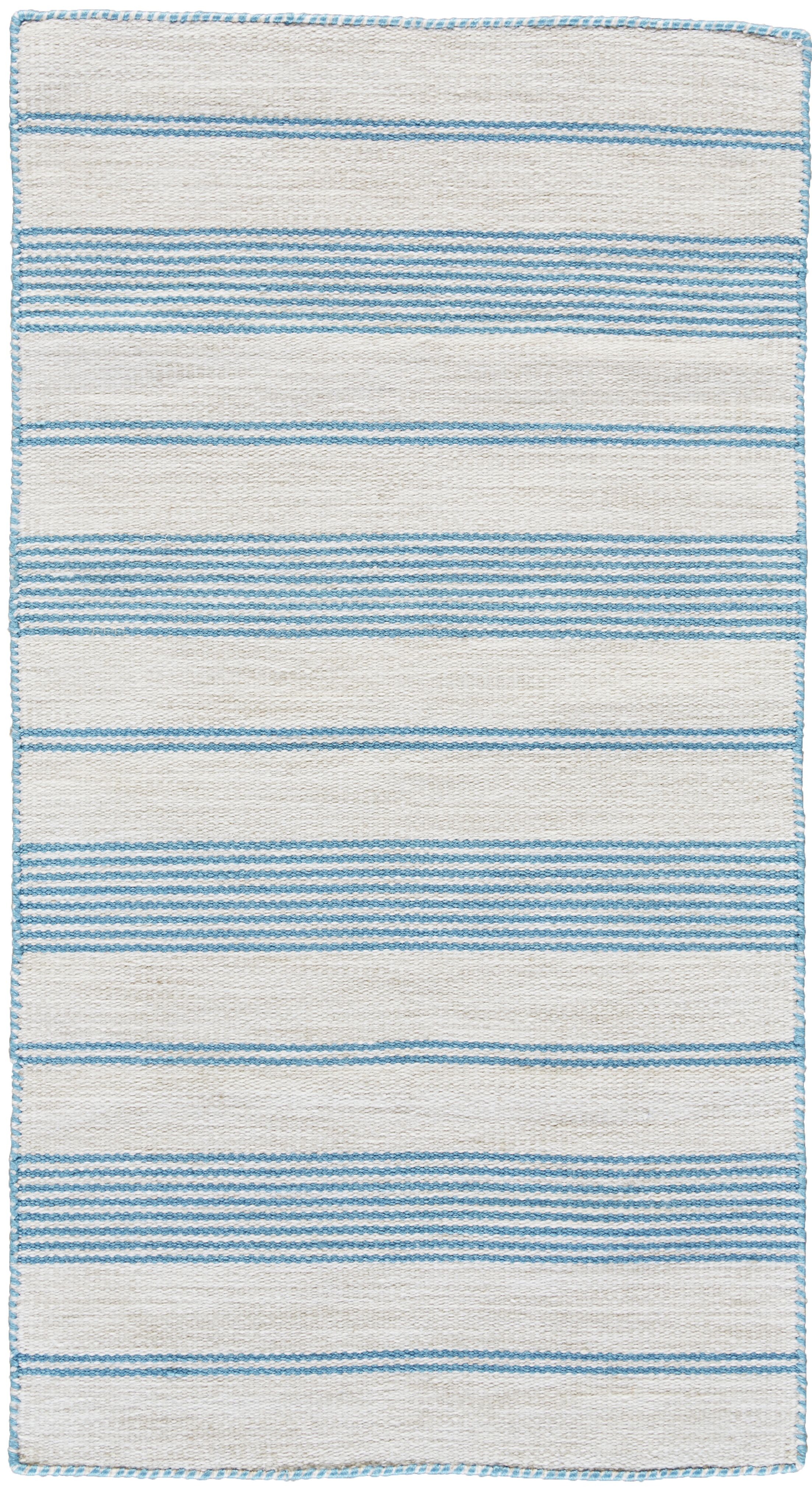 Alicea Hand-Woven Turqouise Area Rug Rug Size: Rectangle 8' x 11'