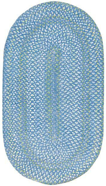 Celise Blue Area Rug Rug Size: Concentric Runner 2'3