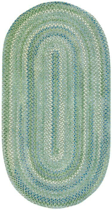 Celise Green Area Rug Rug Size: Concentric 2'3