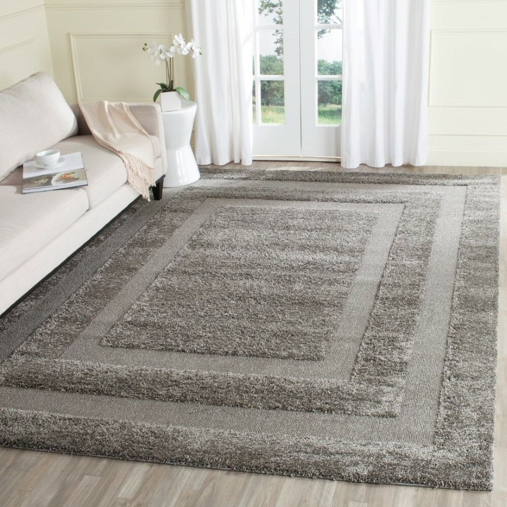 Altha Gray Area Rug Rug Size: 5' X 5' Round