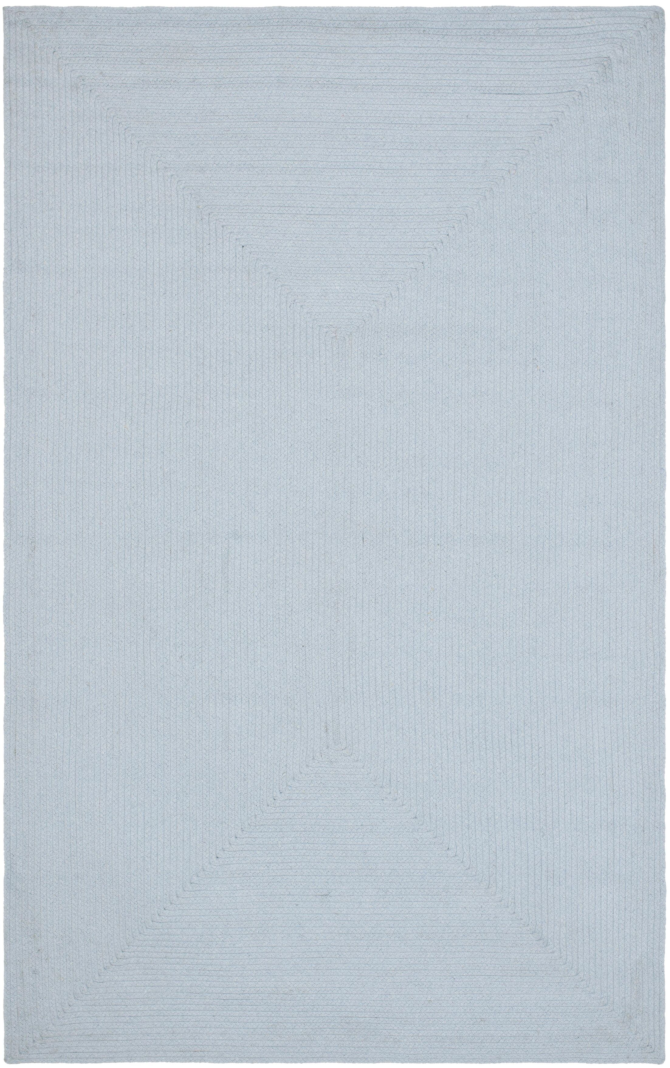 Stahlman Hand Woven Light Blue Area Rug Rug Size: Runner 2'6