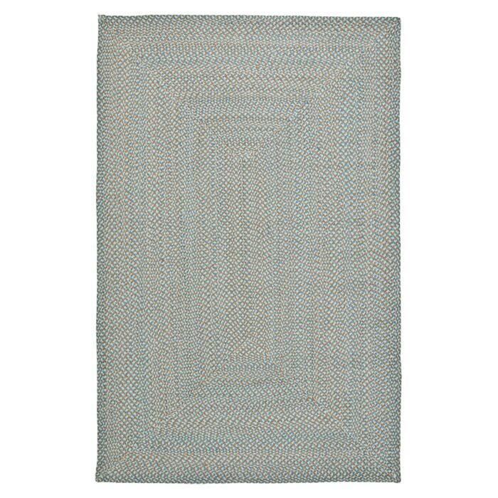 Lissie Hand-Woven Cotton Blue Area Rug Rug Size: Rectangle 5' x 8'