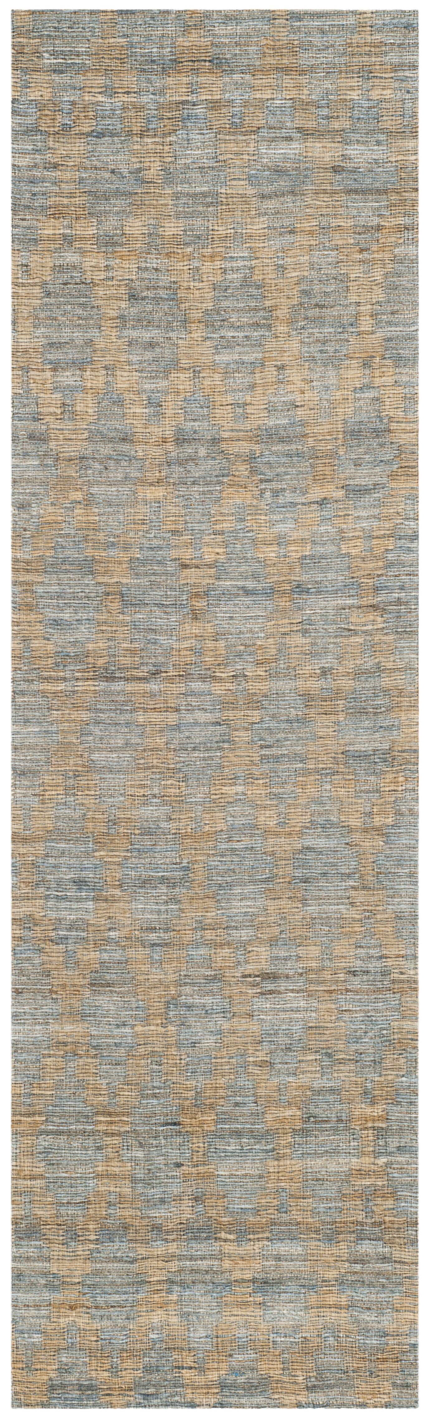 Montserrat Meigs Hand-Woven Light Blue/Gold Area Rug Rug Size: Runner 2'3