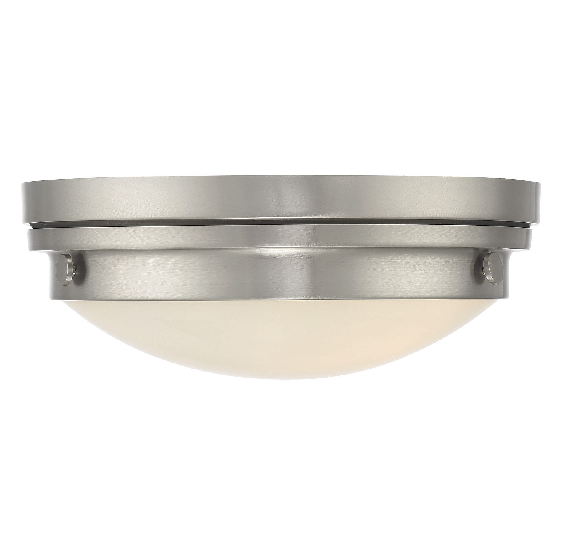 Aralene 2-Light Flush Mount Finish: Satin Nickel