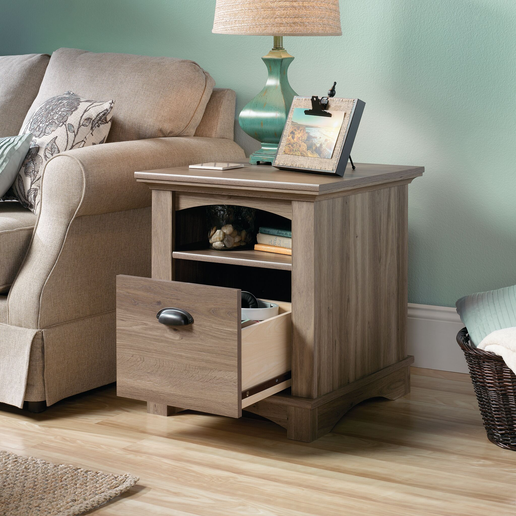 Pinellas End Table With Storage