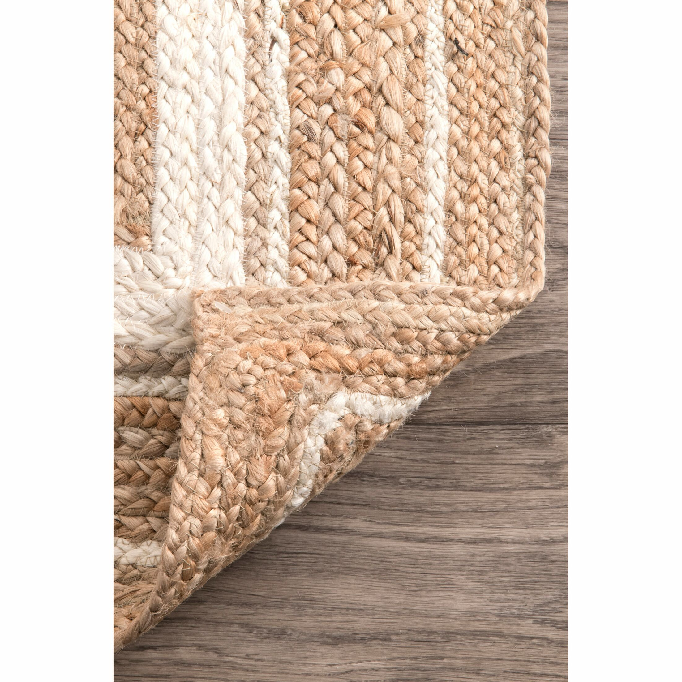 Barbados Beige/Bleached Area Rug Rug Size: Rectangle 6' x 9'