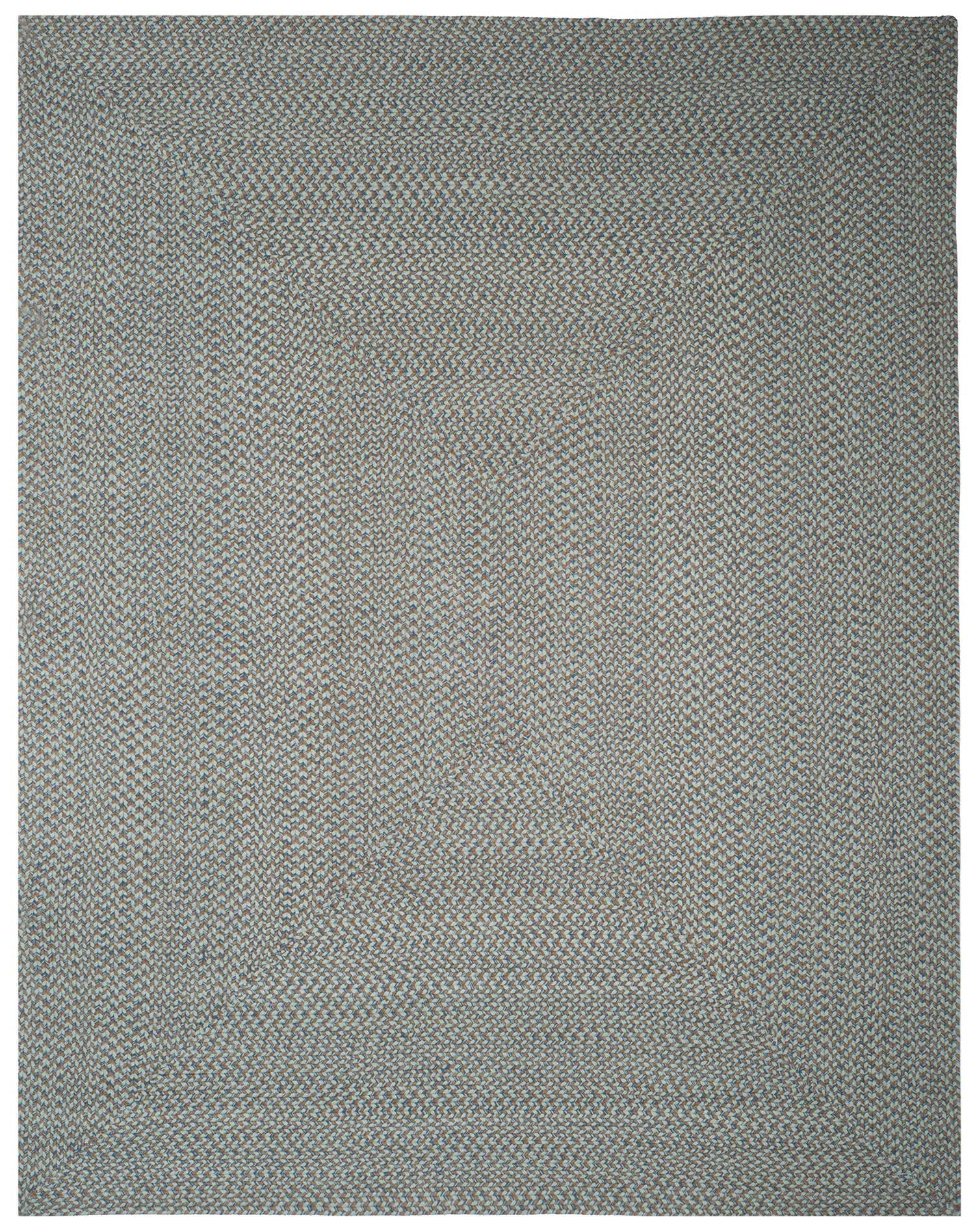 Lissie Hand-Woven Cotton Blue Area Rug Rug Size: Rectangle 9' x 12'