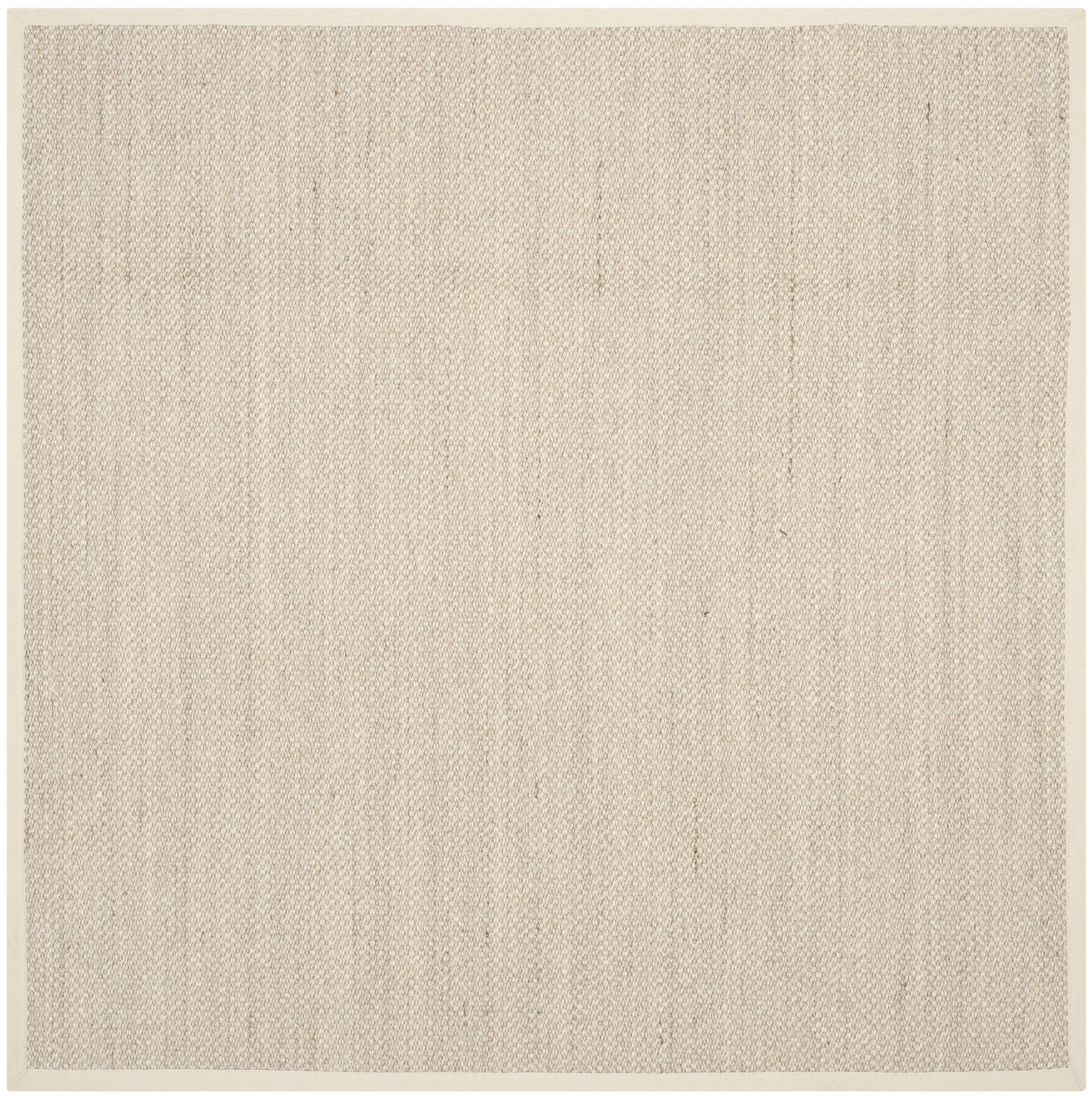 Tallowick Marble/Beige Area Rug Rug Size: Square 6'