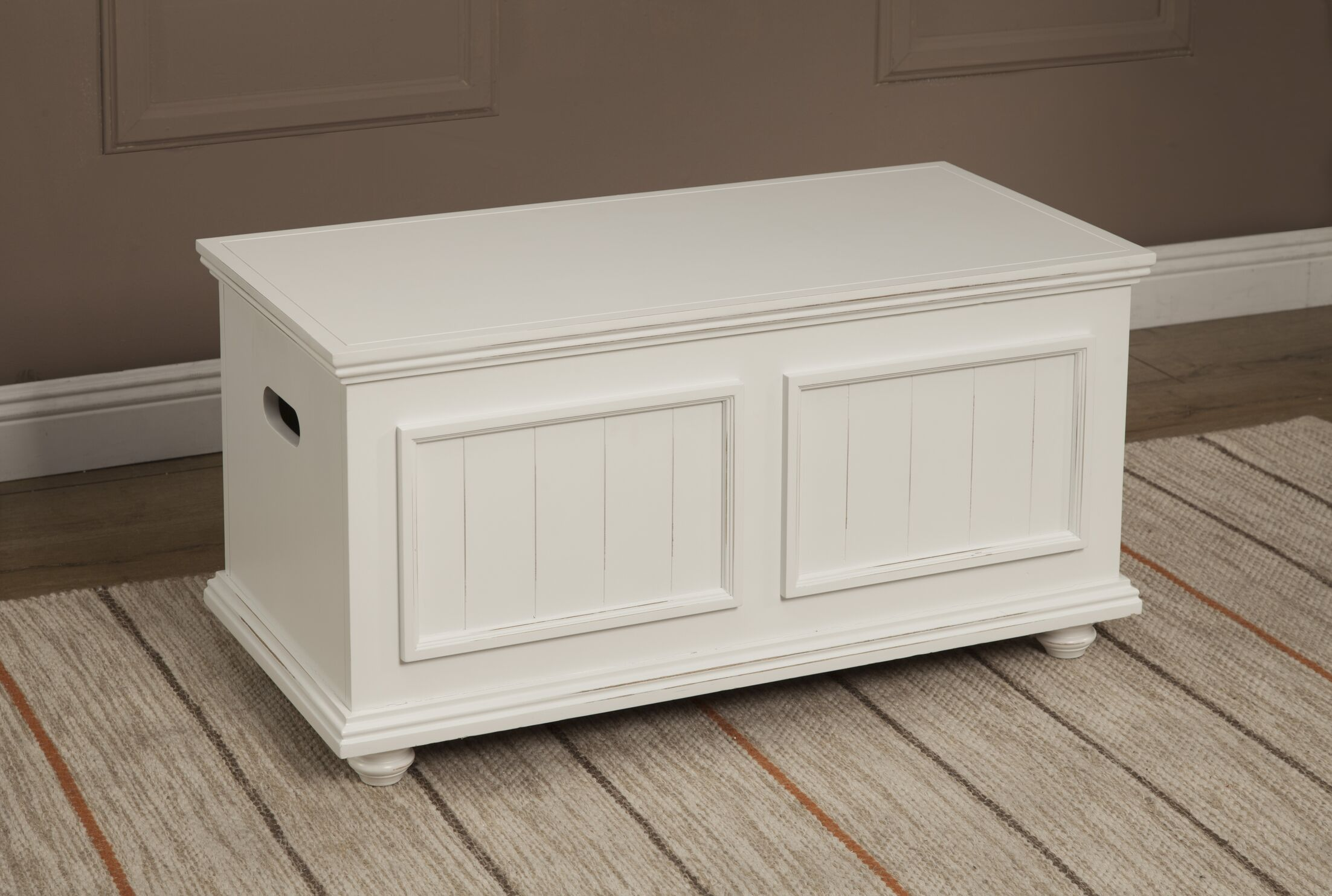Baileyville Coffee Table Color: White