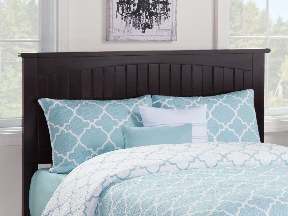 Graham Panel Headboard Color: Espresso, Size: Twin