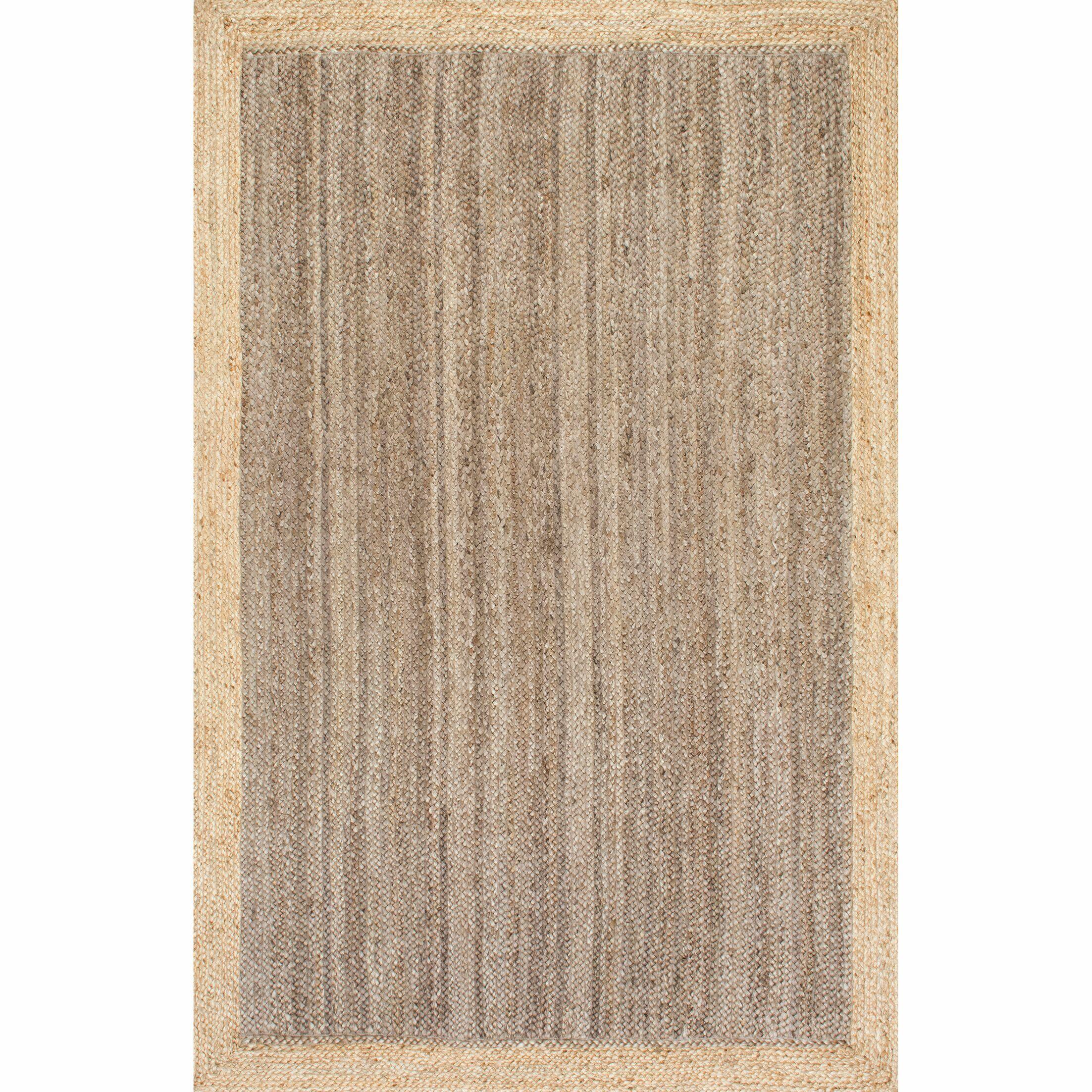Benham Gray Area Rug Rug Size: Rectangle 9' x 12'