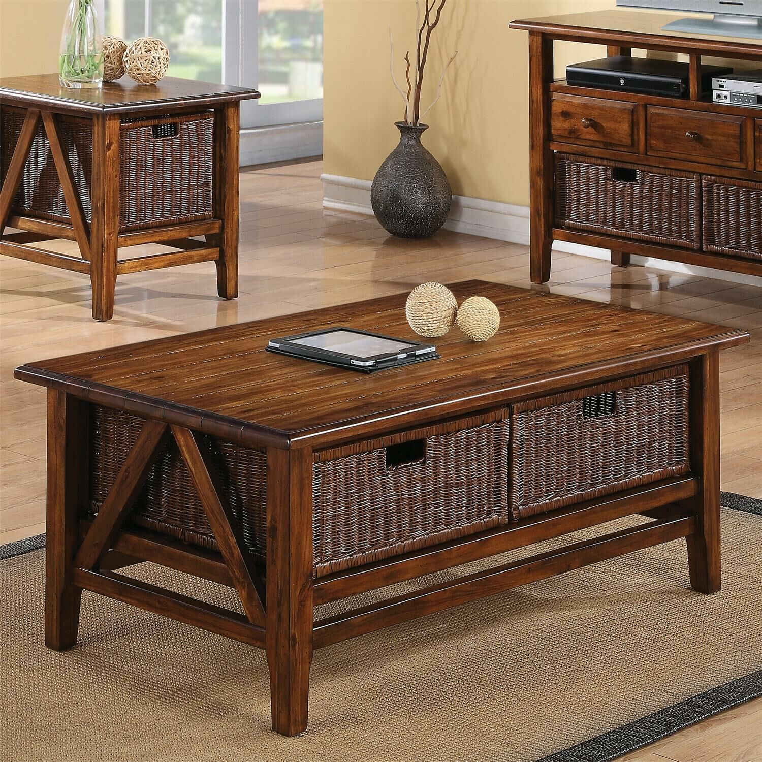 Wellington Coffee Table with Storage