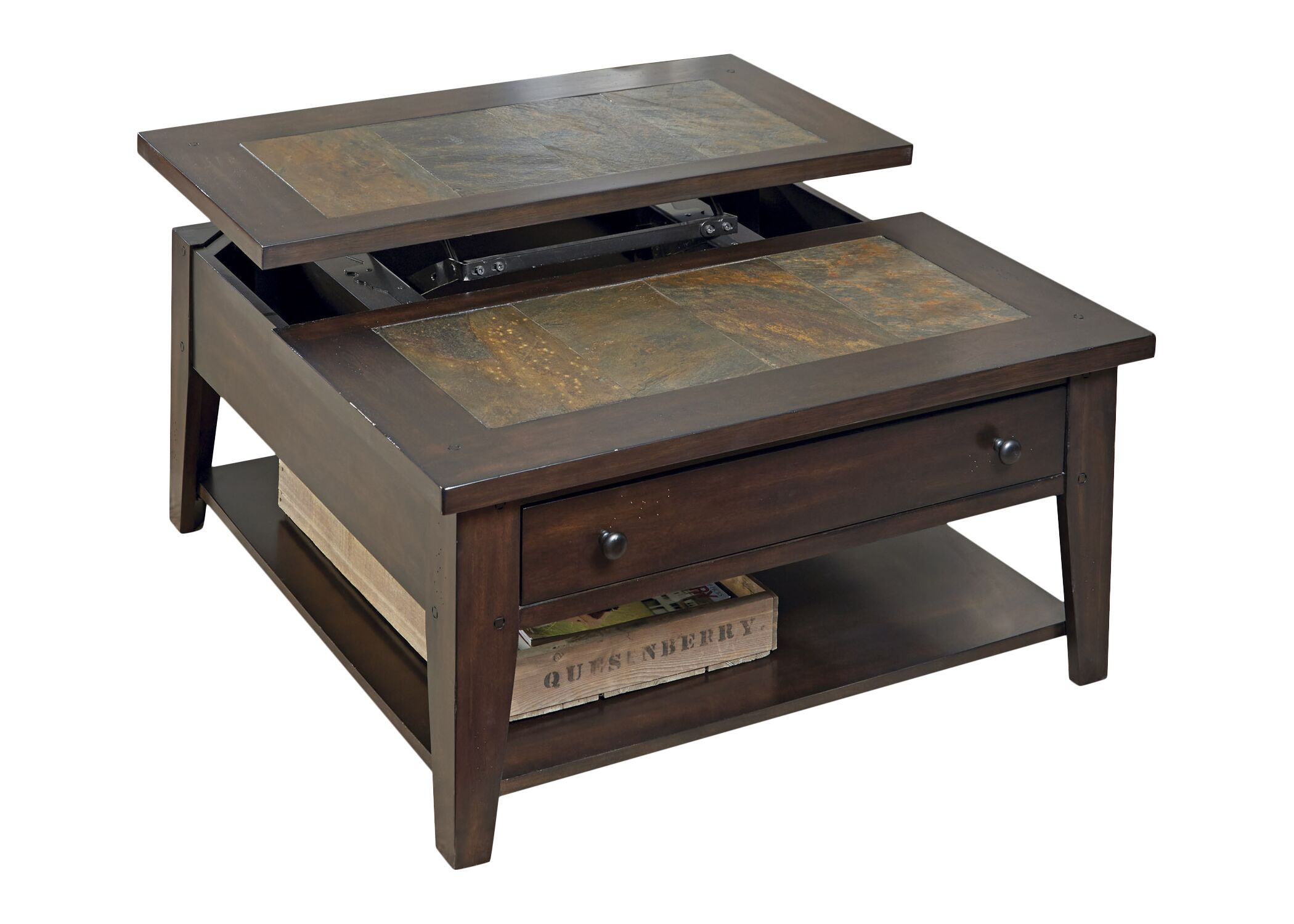 Leadville North Coffee Table with Lift Top