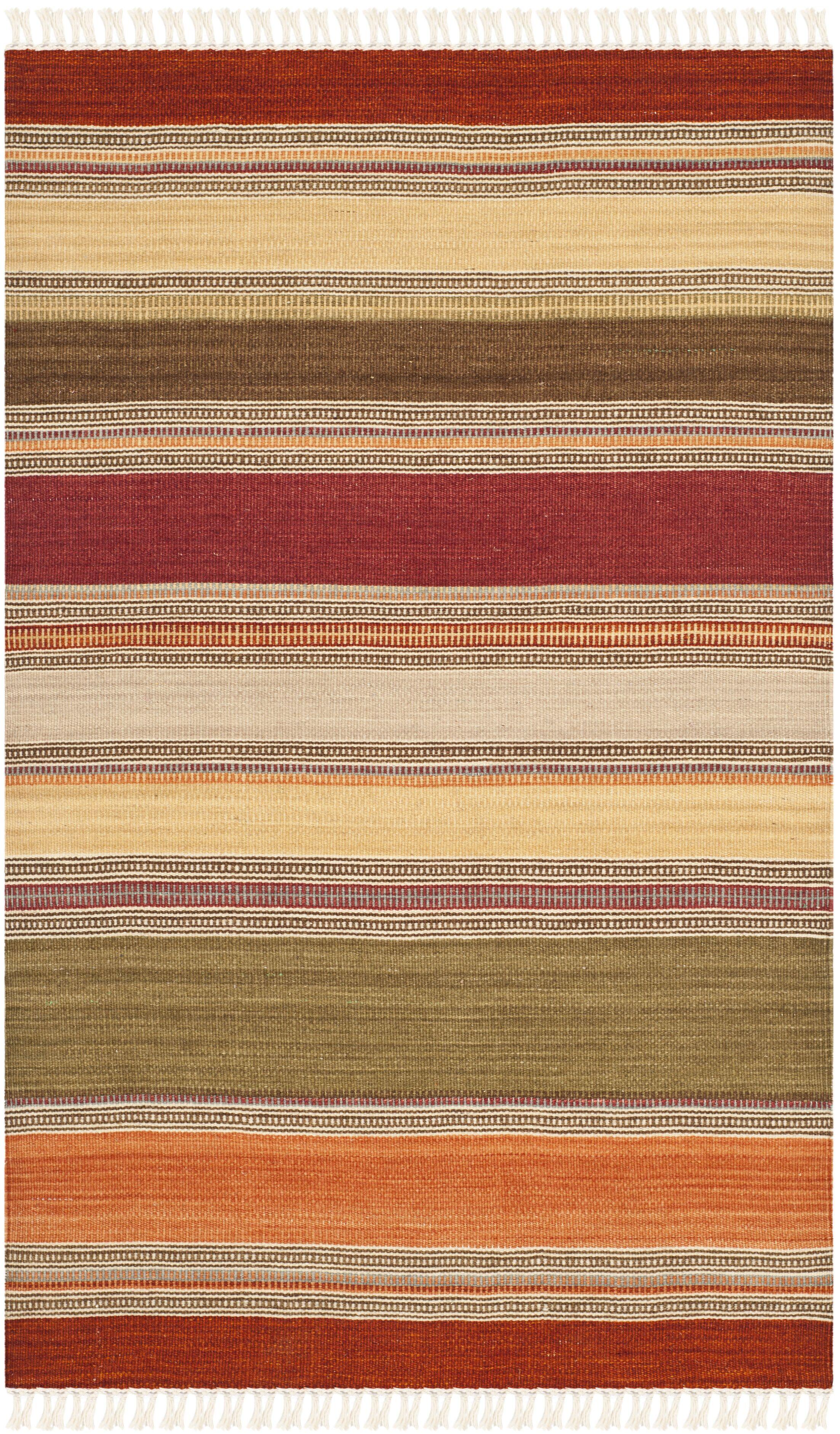 Northeast Pueblo Hand-Woven Area Rug Rug Size: Rectangle 9' x 12'