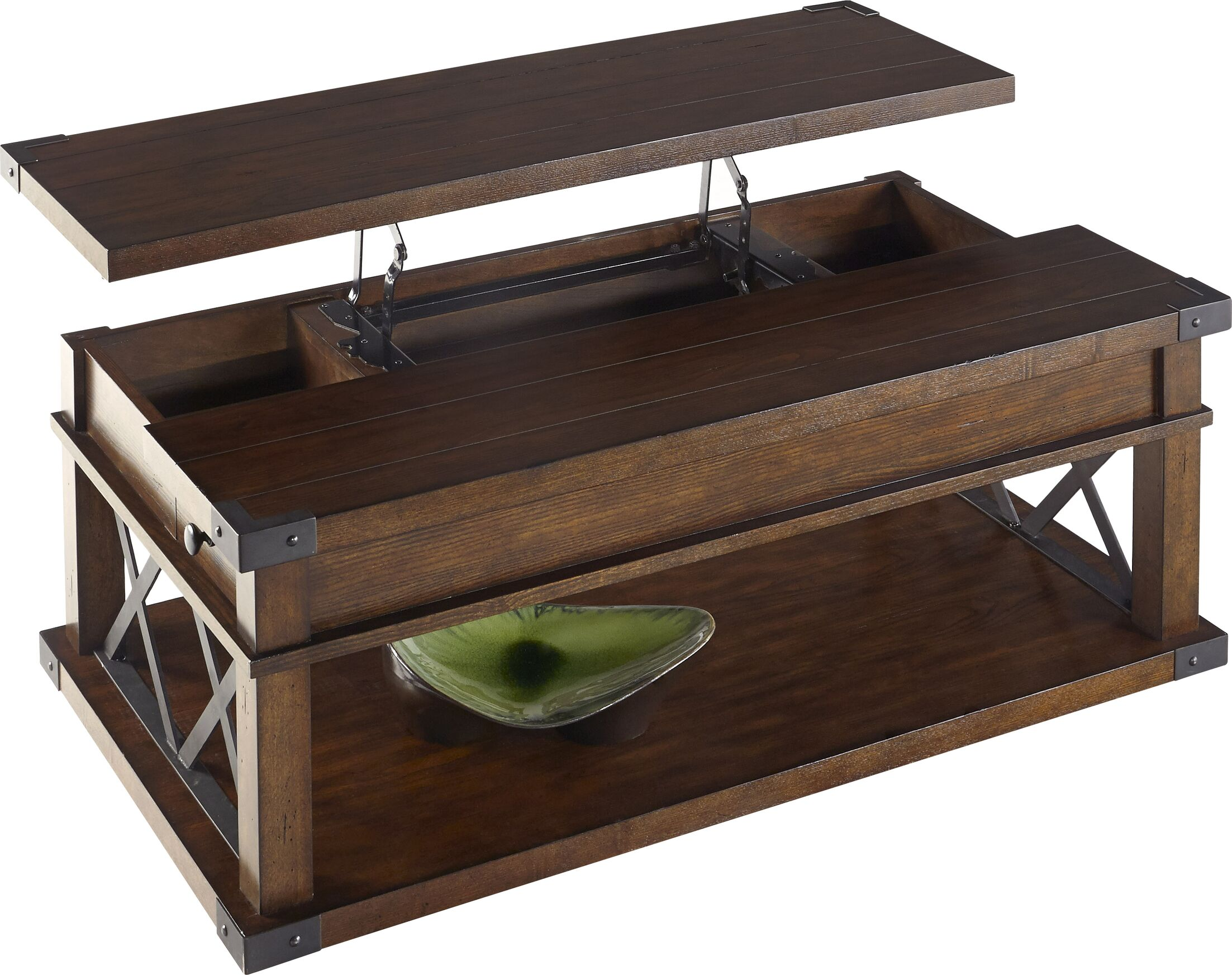 Fusillade Lift Top Coffee Table