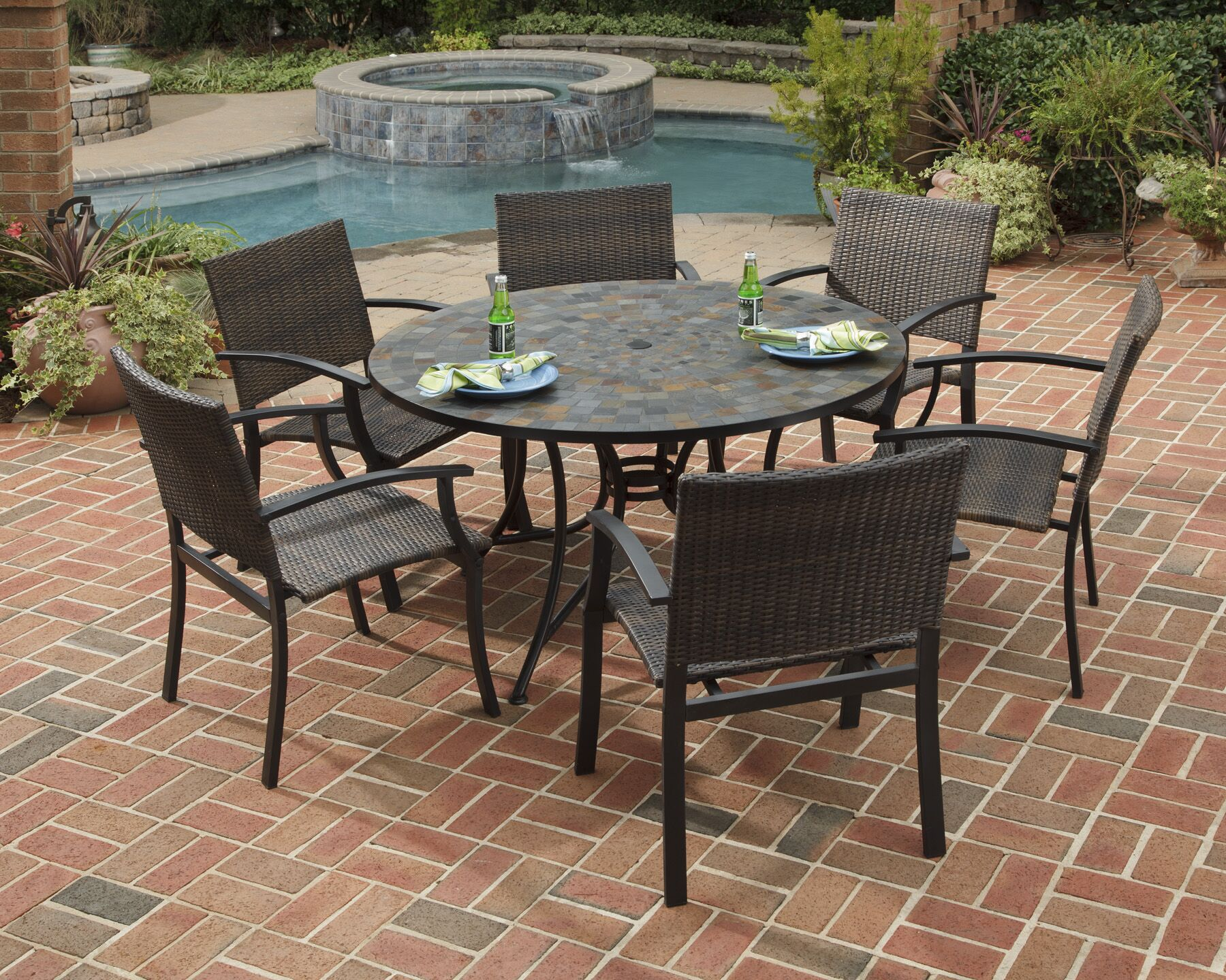 Helmer 7 Piece Dining Set