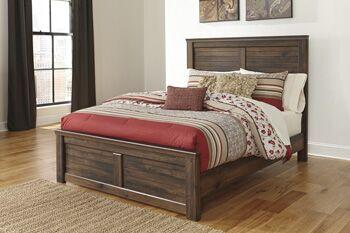 Saint Marys Wood Panel Bed