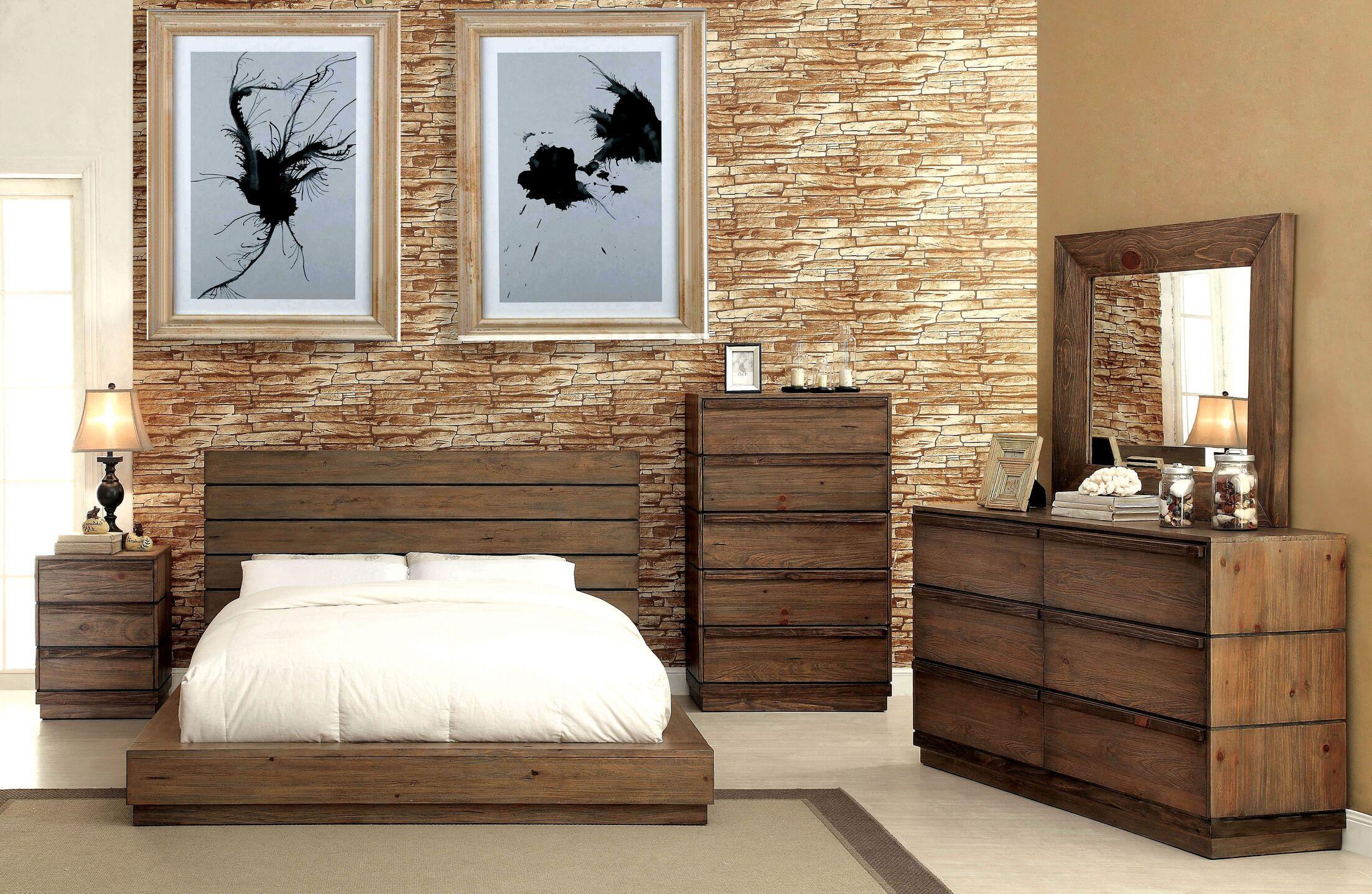 Petra Platform Configurable Bedroom Set