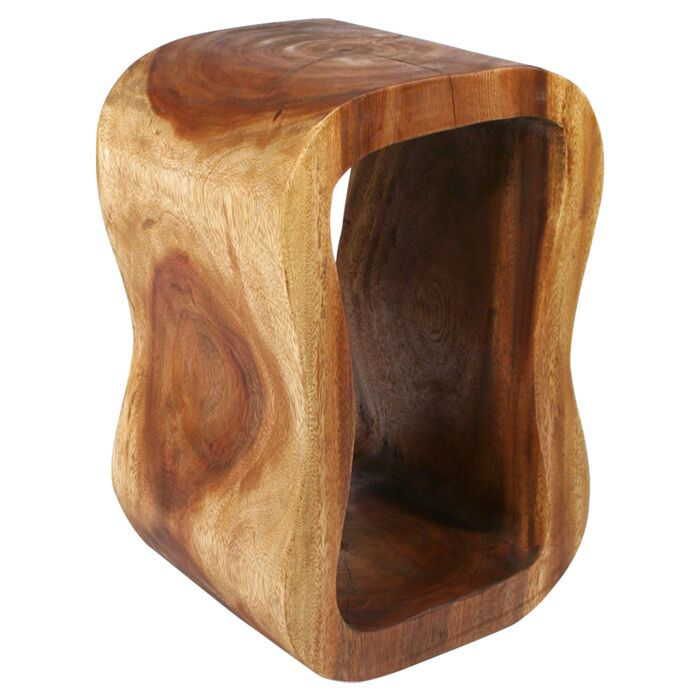 Hazley Wave End Table