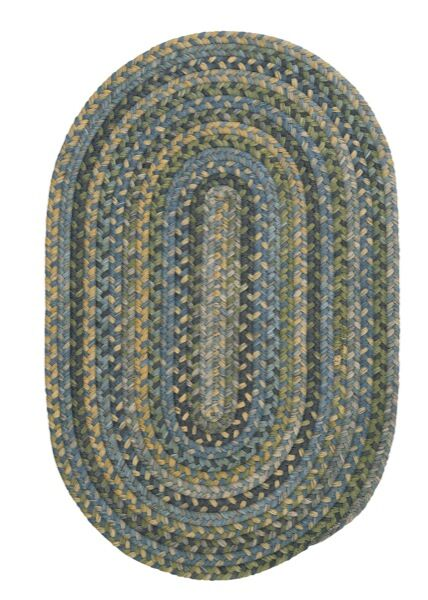 Morris Blue Area Rug Rug Size: Rectangle 12' x 15'