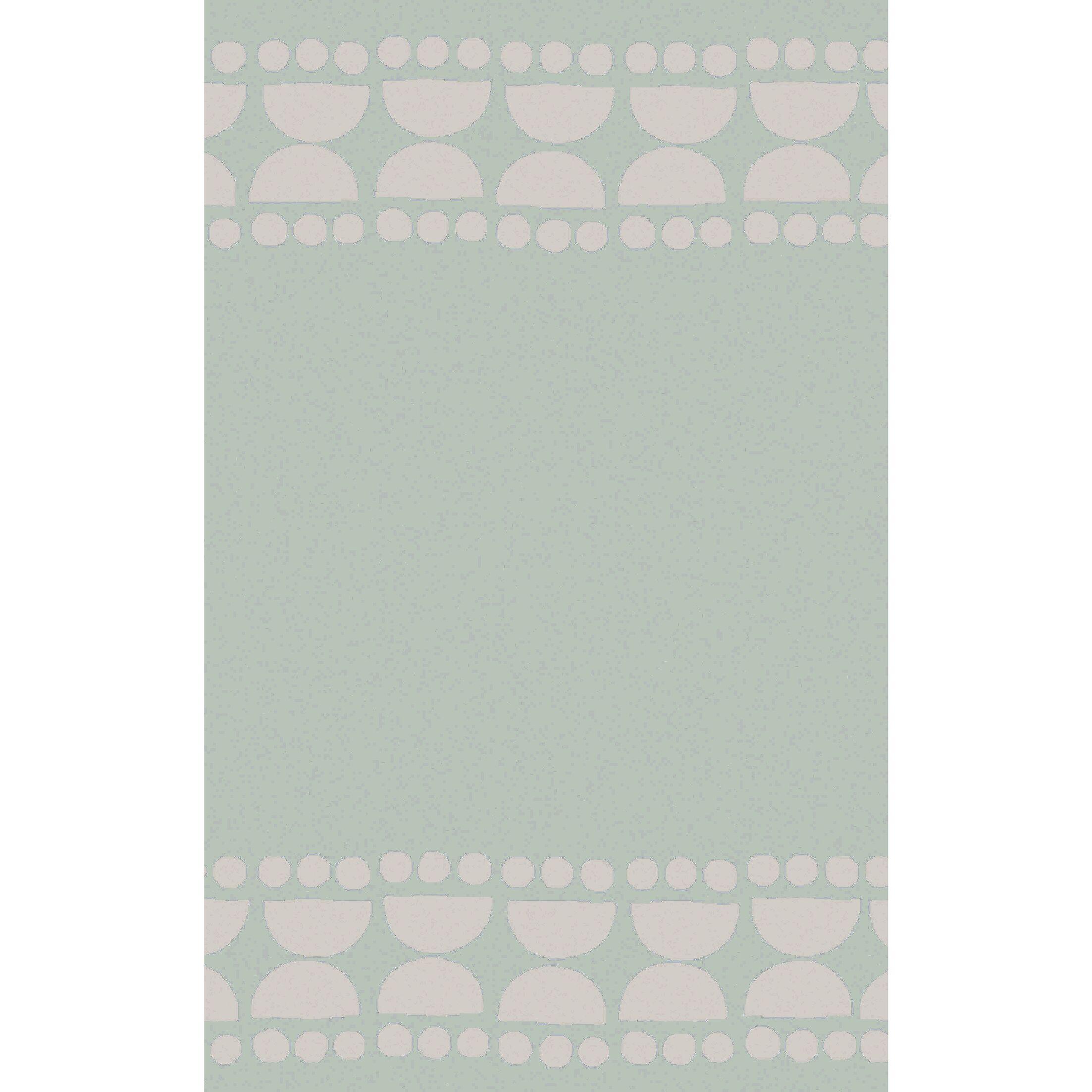 Gabb Hand-Woven Sea Foam/Light Gray Area Rug Rug Size: Rectangle 8' x 11'