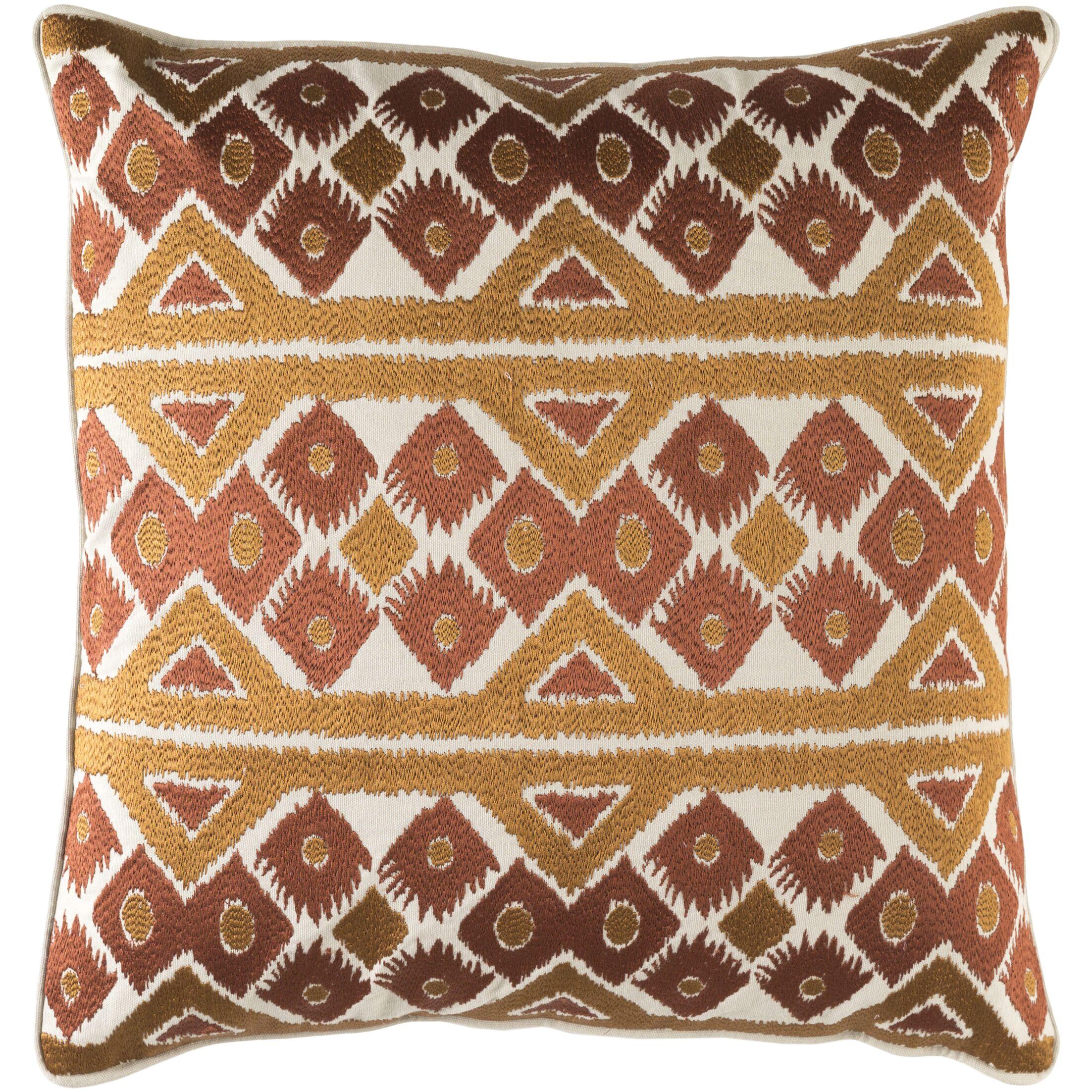 Cedro Cotton Throw Pillow Size: 22