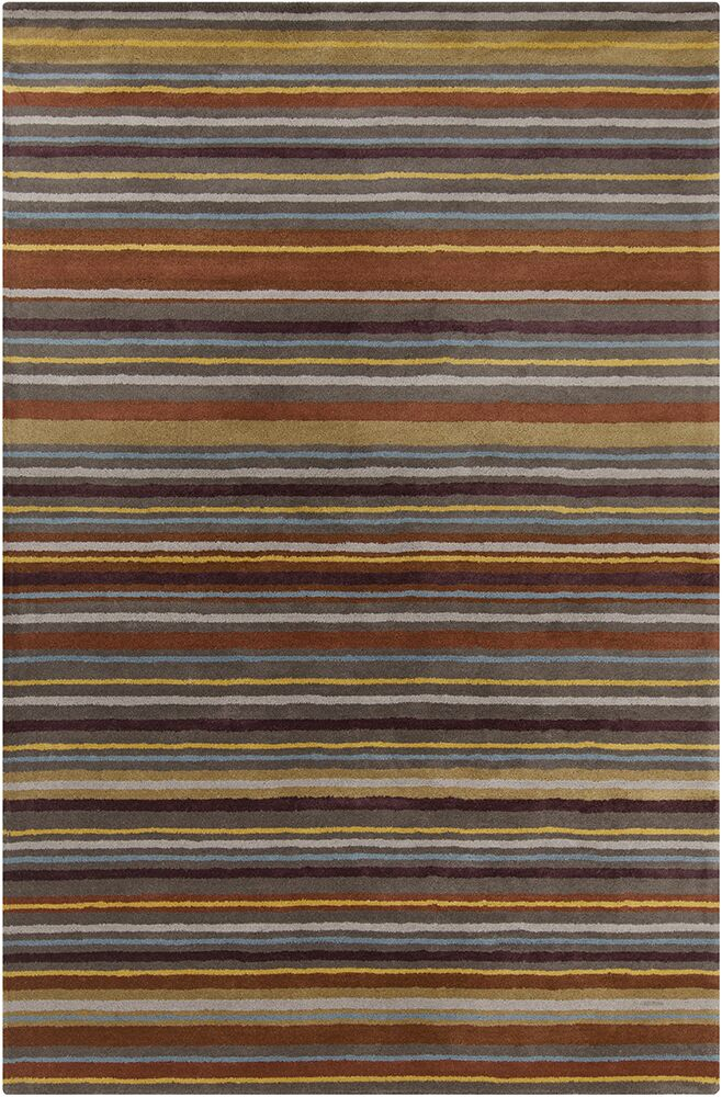 Chatou Hand Tufted Wool Area Rug Rug Size: 8' x 10'