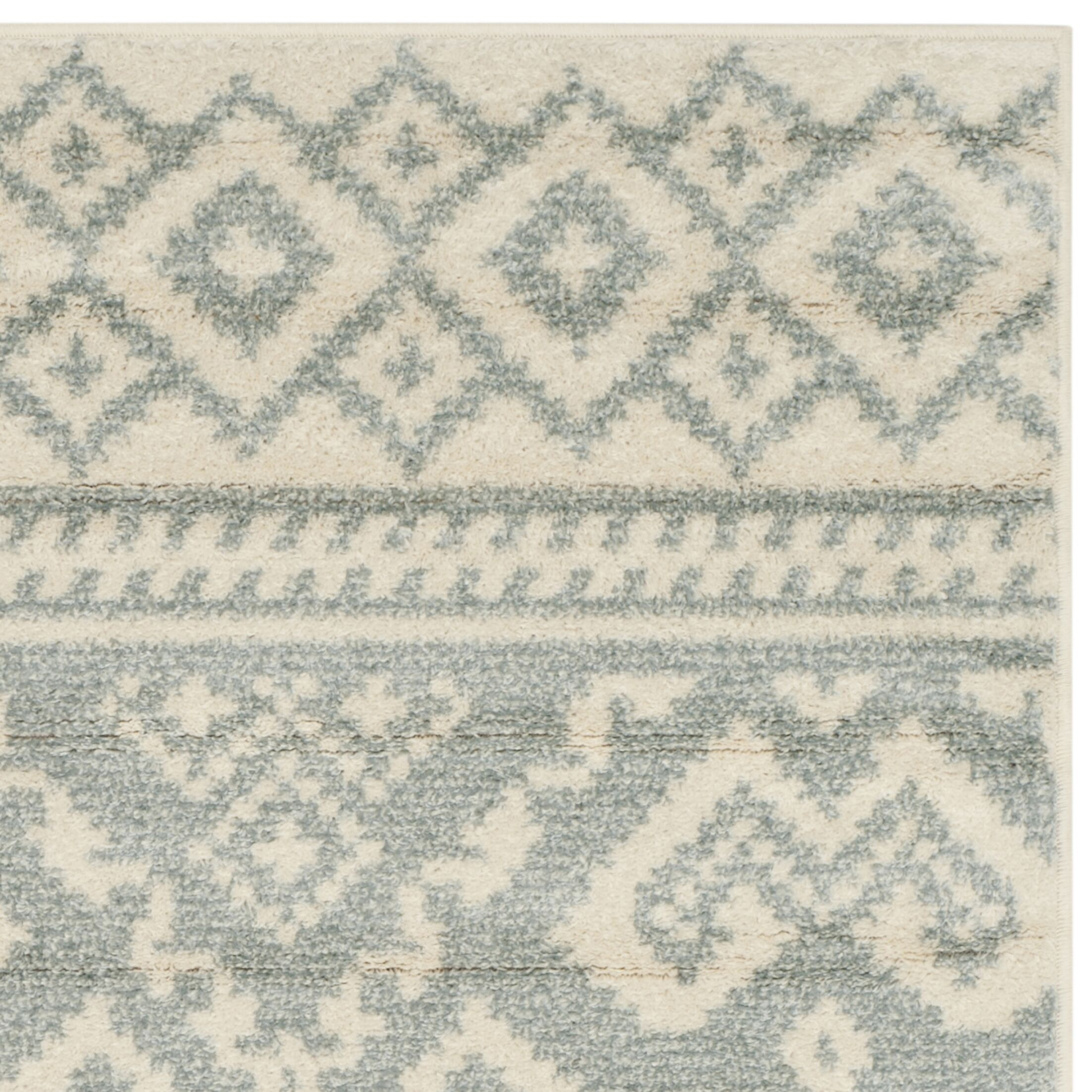 Cavileer Ivory/Slate Area Rug Rug Size: Rectangle 5'1