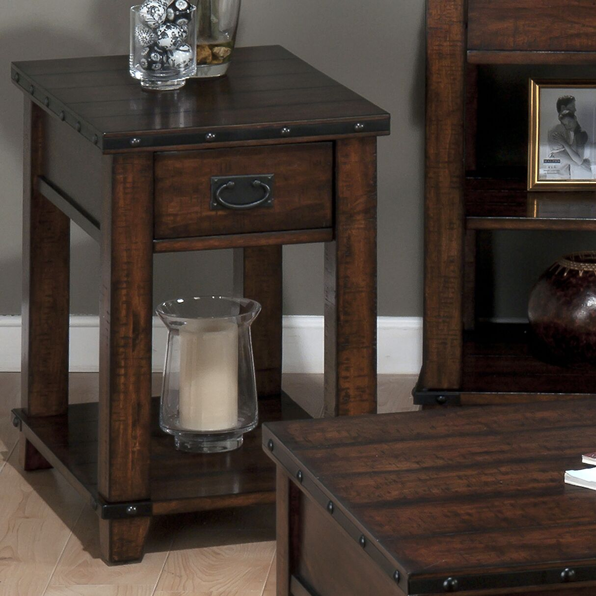 Boscobel End Table With Storage