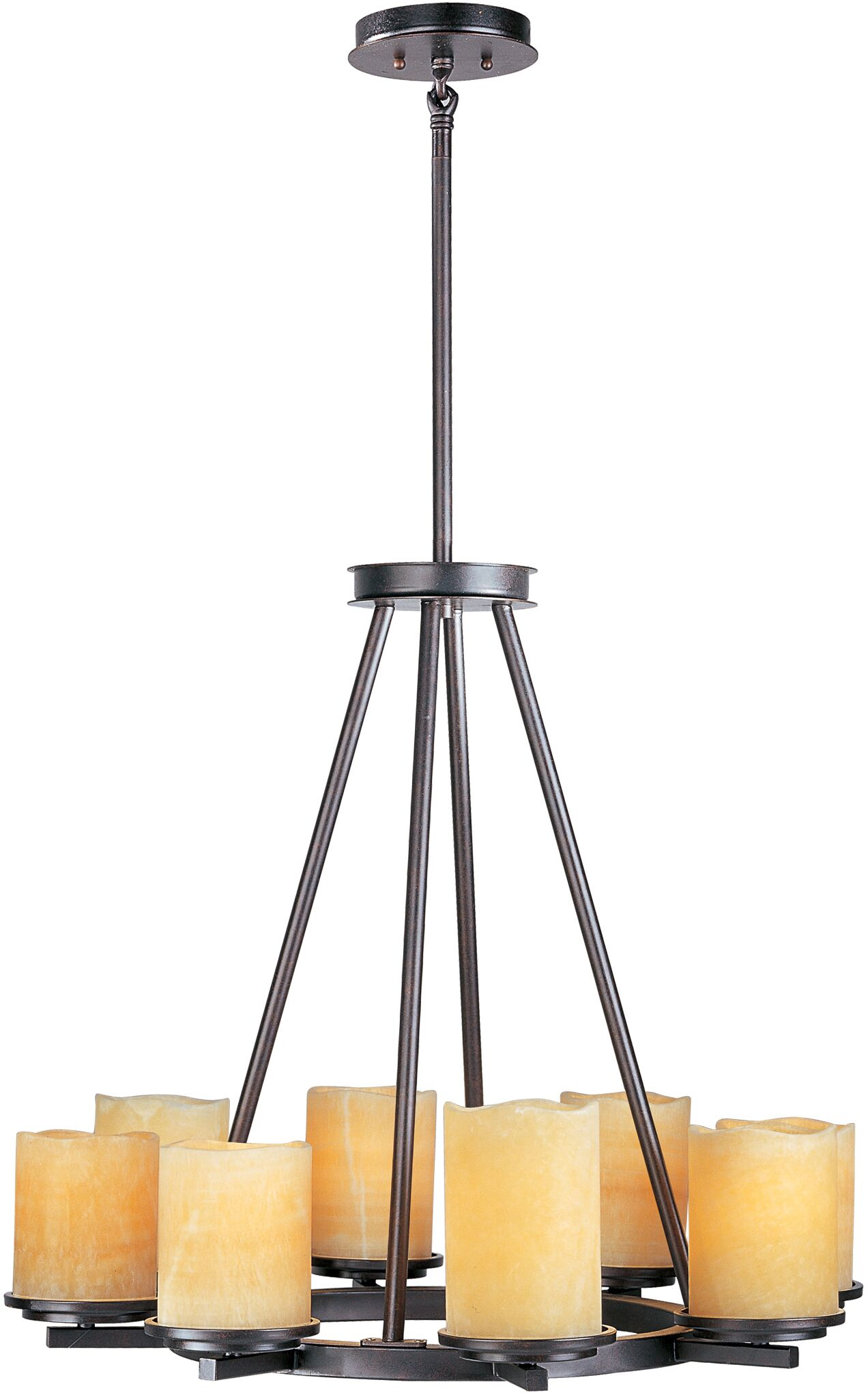 Carovilli 8-Light Shaded Chandelier