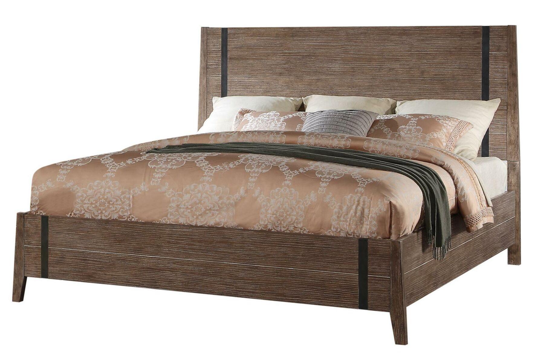 Crane Panel Bed Size: King