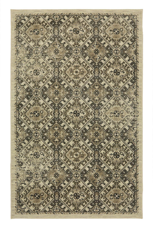 Calistoga Warner Olive Green/Taupe Area Rug Rug Size: Rectangle 8' x 5'