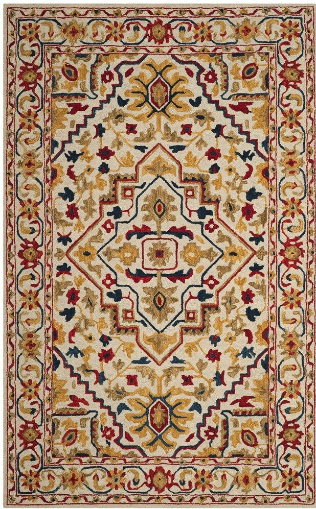 Aldwich Hand-Tufted Multi-Color Area Rug Rug Size: Rectangle 8' x 10'