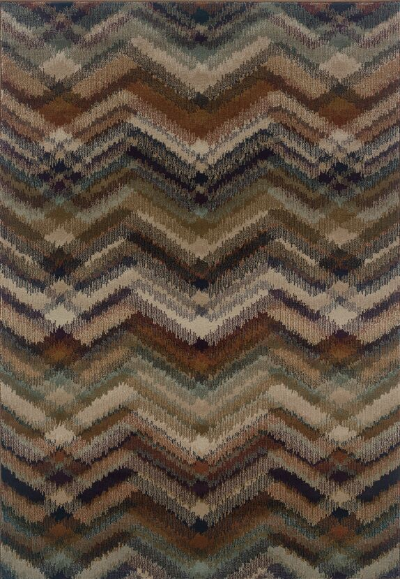 Horasan Gray/Brown Area Rug Rug Size: Rectangle 3'10