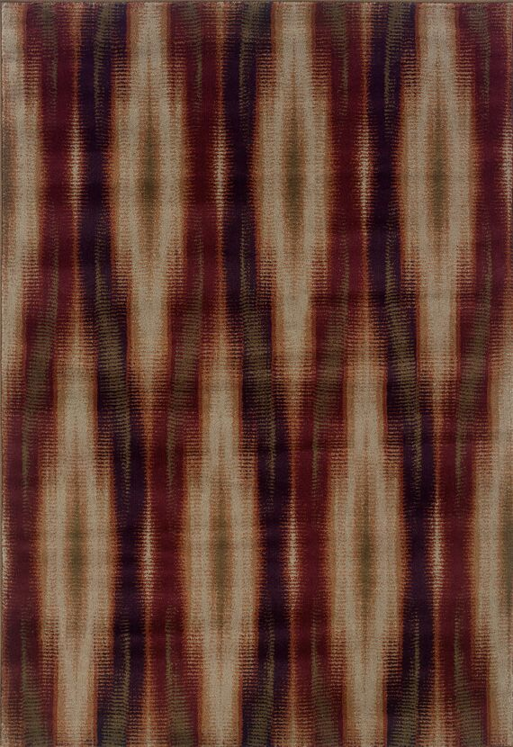 Horasan Gray/Red Area Rug Rug Size: Runner 1'1 x 7'6