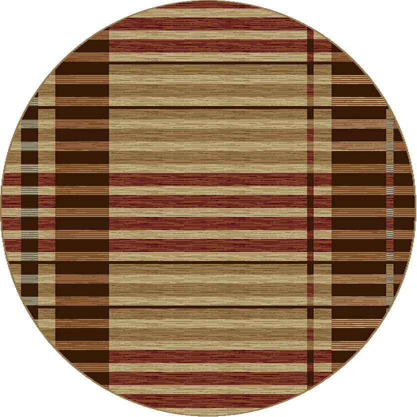 Sanhedrin Stripes Rug Rug Size: Round 7'10