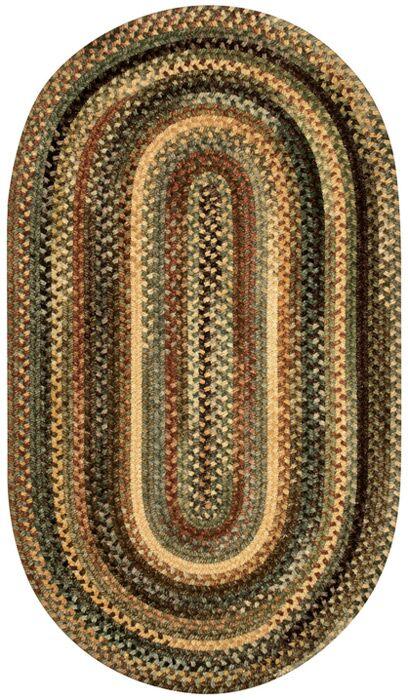 Kaweah Green Area Rug Rug Size: Oval 4' x 6'