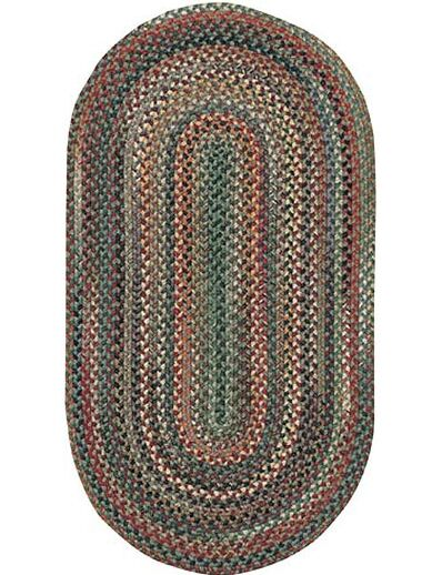 Kenji Pine Area Rug Rug Size: Concentric Runner 2'3