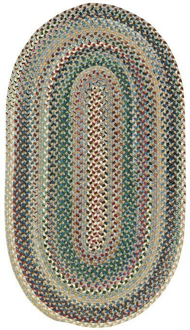 Kenji Light Blue Area Rug Rug Size: Oval 7' x 9'