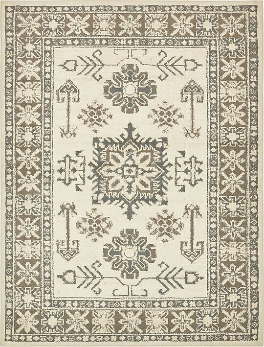 Giovanni Cream Area Rug Rug Size: Rectangle 8' x 10'