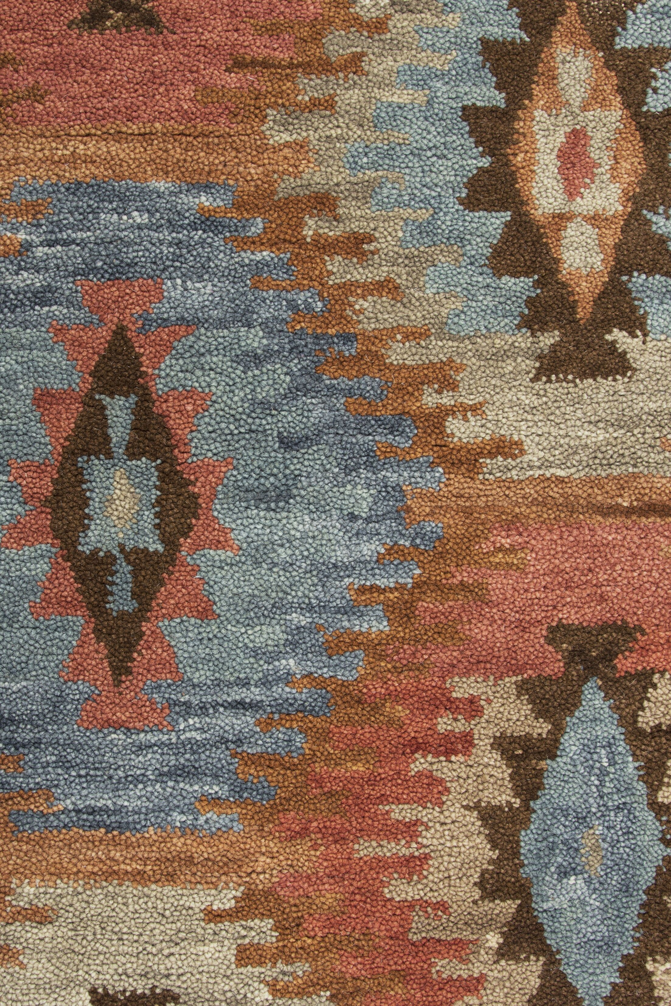 Harrison Hand-Tufted Paprica Area Rug Size: Rectangle 5' x 8'