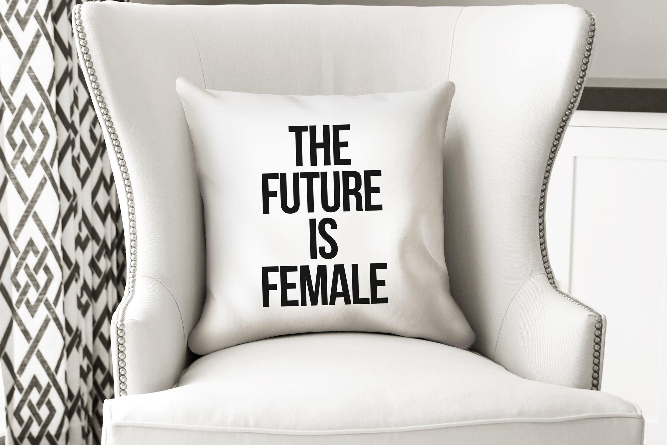 Etna Female Indoor/Outdoor Throw Throw Pillow Size: 24