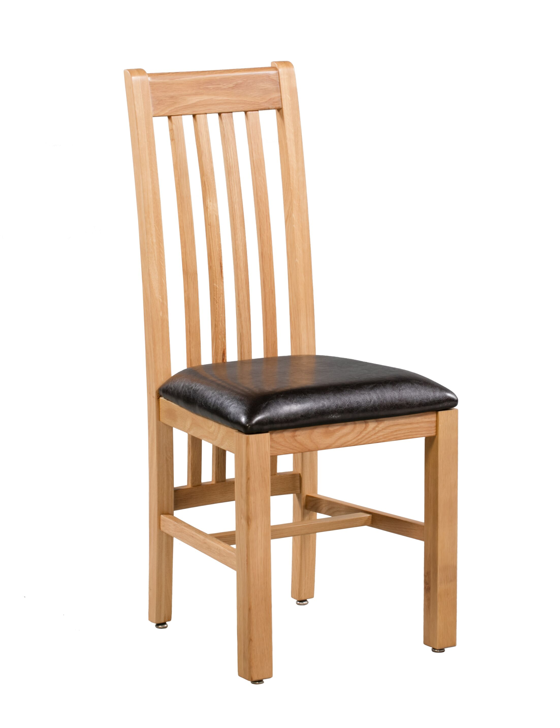 Covarrubias Upholstered Dining Chair Frame Color: Natural Oak