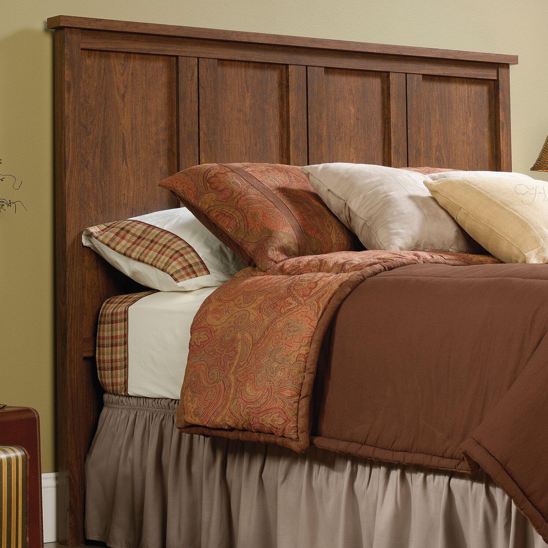 Ringgold Full Panel Headboard Upholstery: Milled Cherry