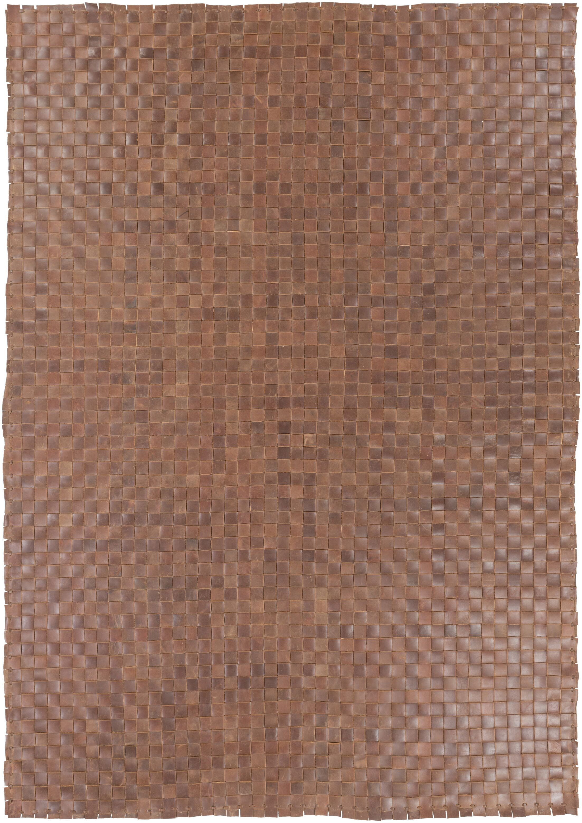 Taraji Hand Woven Brown Indoor/Outdoor Area Rug Rug Size: Rectangle 5' x 7'6