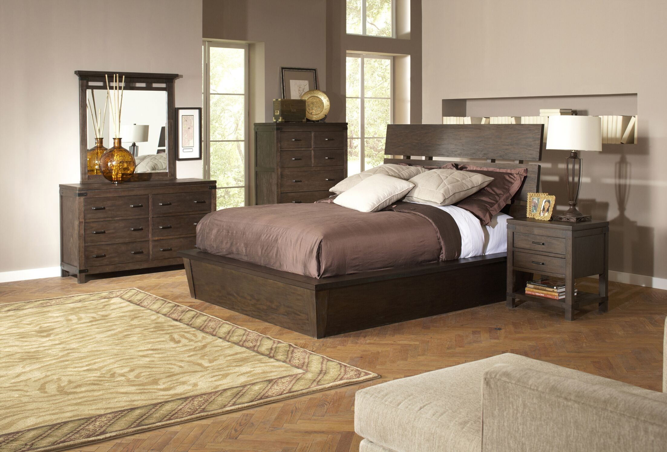Beartree Storage Panel Configurable Bedroom Set